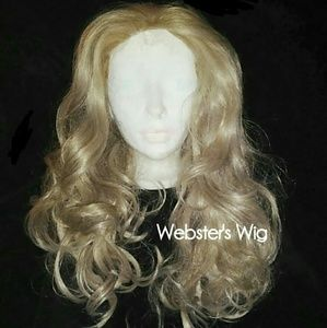 Never Worn Ash Blonde Webster's Wig